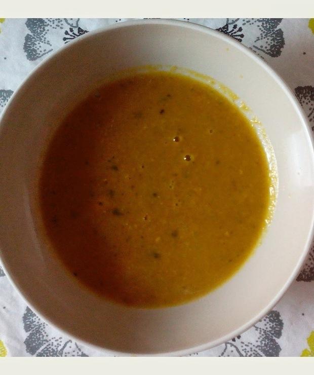 Zupa krem z soczewicy - Z warzywami