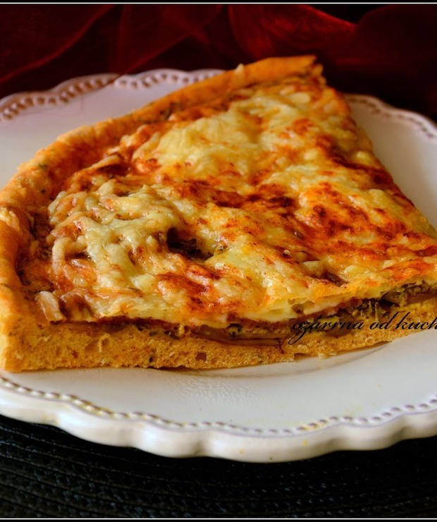 Pizza carbonara - Pizza i calzone