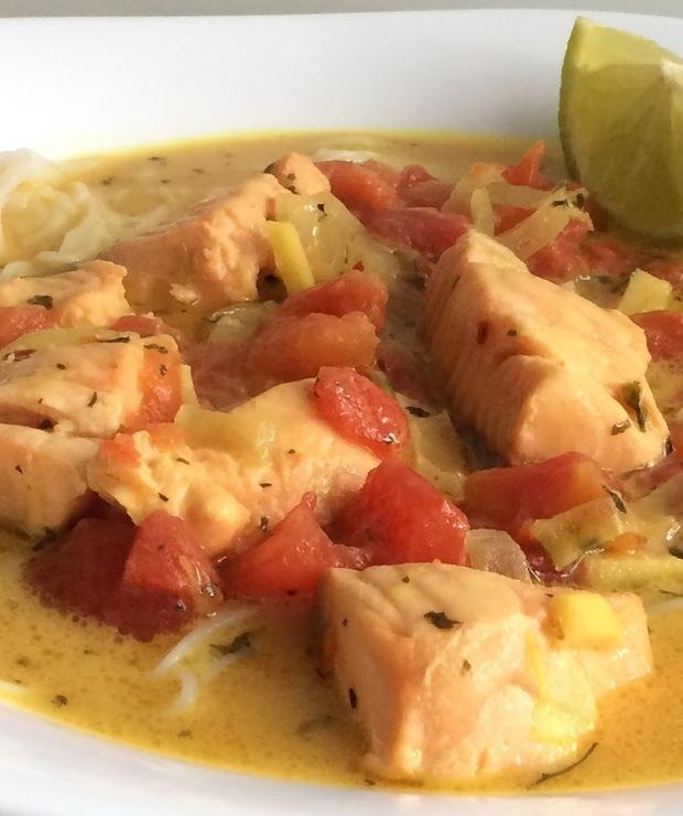 Zupa tajska z łososiem - Inne