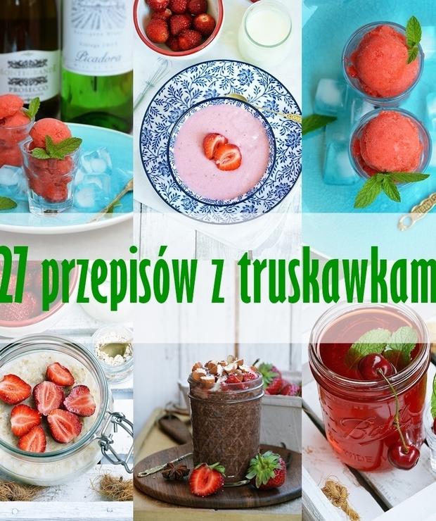 27 przepisów z truskawkami - Na zimno