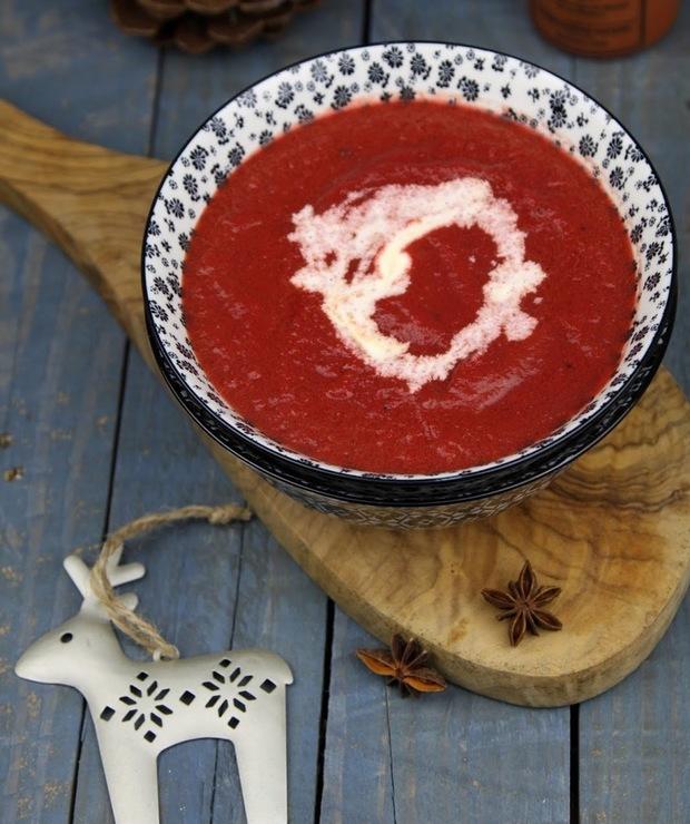 Aromatyczna zupa buraczkowa - Kremy