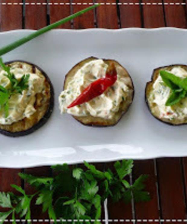 Grillowany bakłażan z serkiem mascarpone - Warzywa