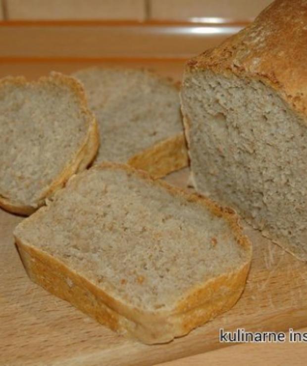 Chleb pszenno – żytni na zakwasie - Chleby