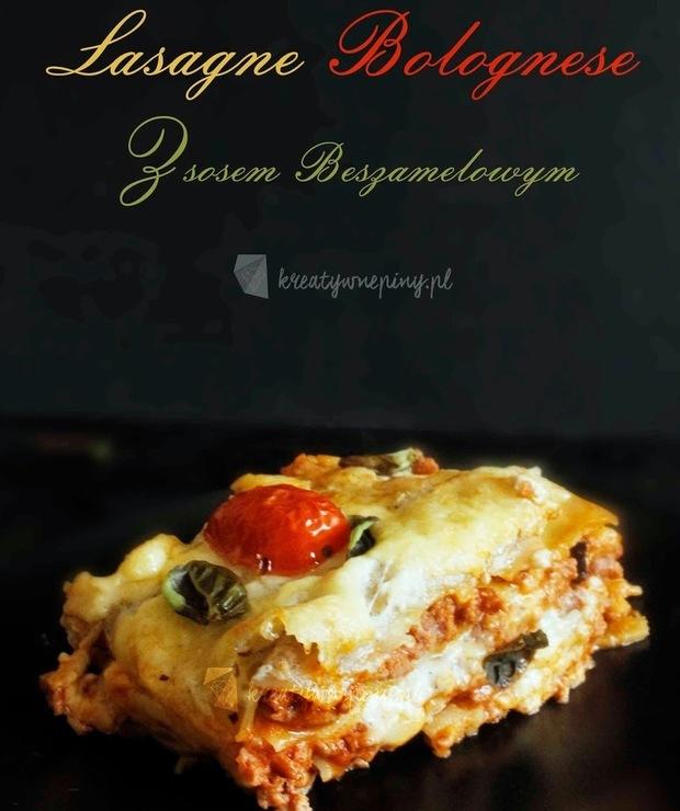 Lasagne Bolognese z sosem beszamelowym - Wieprzowina