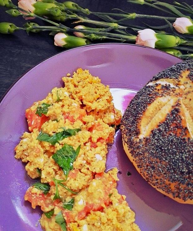 Hinduska jajecznica - Jajka i omlety