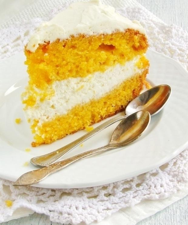 ciasto marchewkowe z kremem… - Ucierane