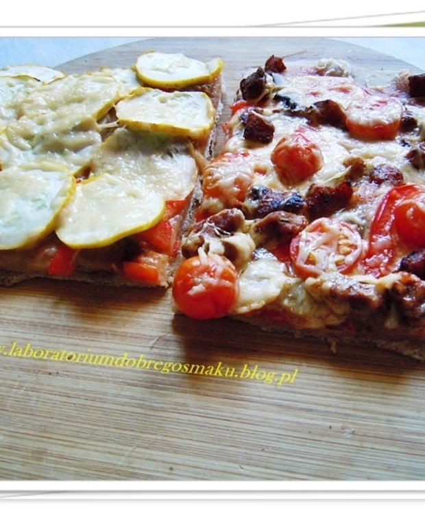 Domowa pizza ½ - Pizza i calzone