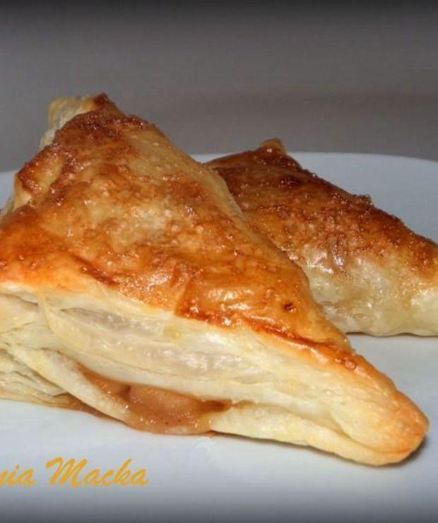 Ciastko francuskie z jabłkami - Ciastka