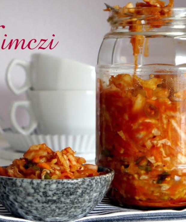Kimchi (kimczi) - pikantna kiszonka z Korei - Warzywa