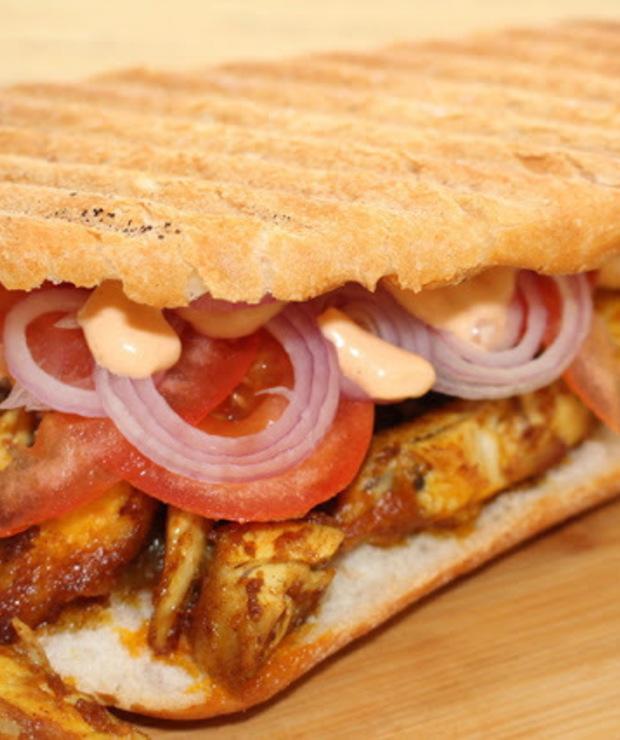 Kanapka kebab gyros - Drób