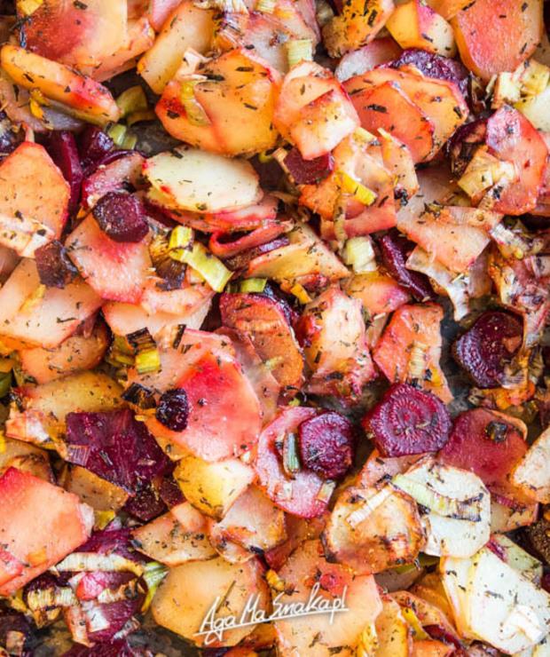 Szybki, aromatyczny obiad z piekarnika - Warzywa