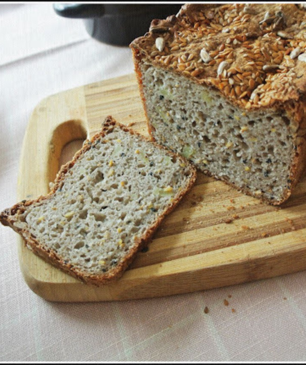 Chleb gryczano-ziemniaczany (bez glutenu) - Chleby