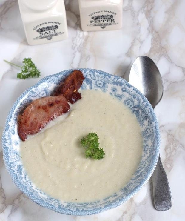 Zupa krem z białej kapusty - Kremy