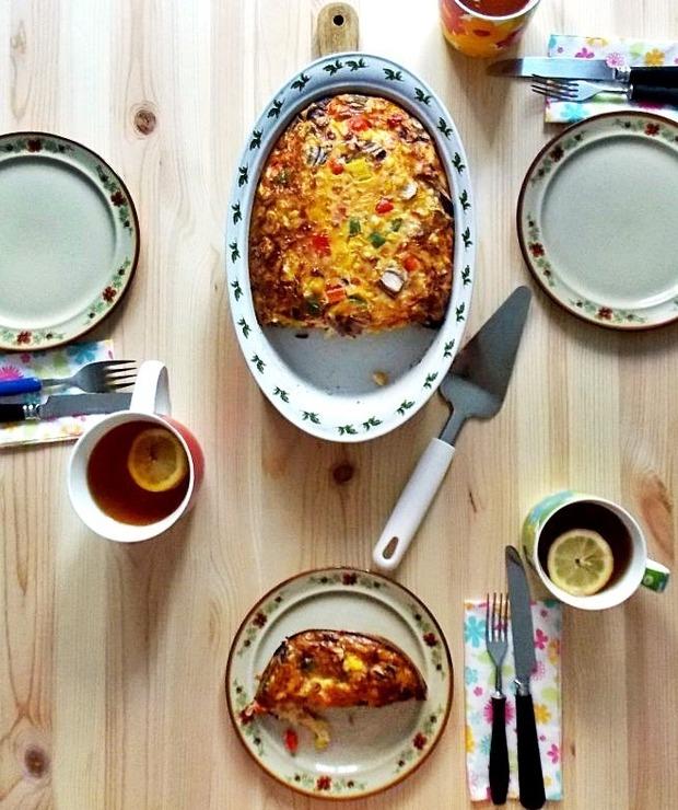 Frittata - Jajka i omlety