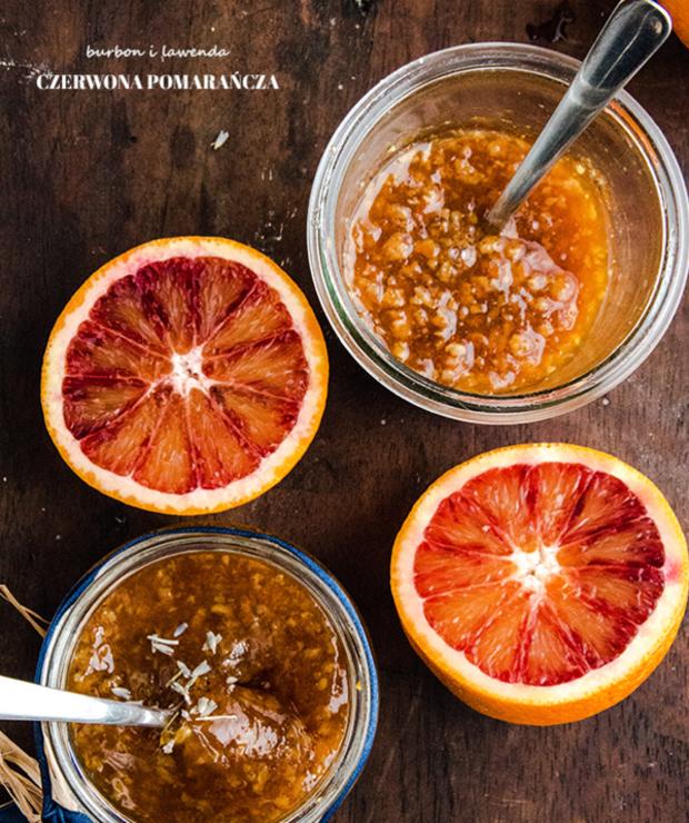 Czerwone pomarańcze. Burbon i lawenda. Konfitury. - Inne