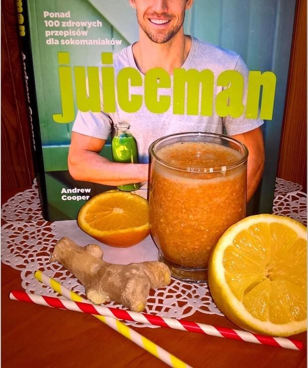 Koktajl na odporność wg Juicemana + recenzja książki - Zimne