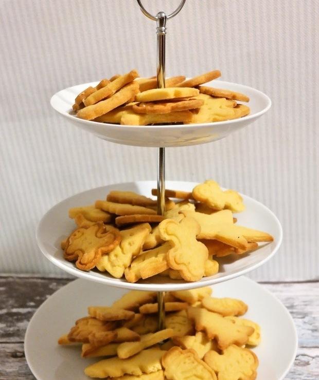 Maślane kruche ciasteczka - Ciastka