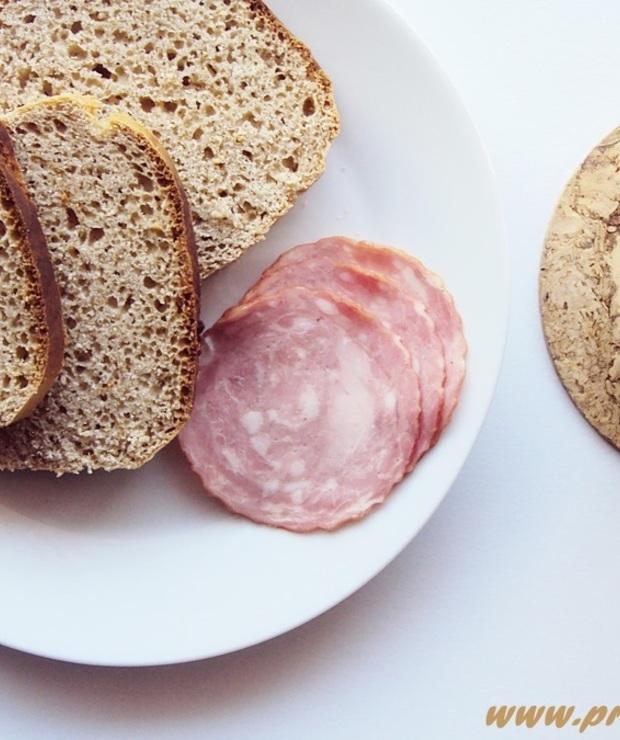 Chleb z mąką z cibory jadalnej (bez glutenu) - Bezglutenowe