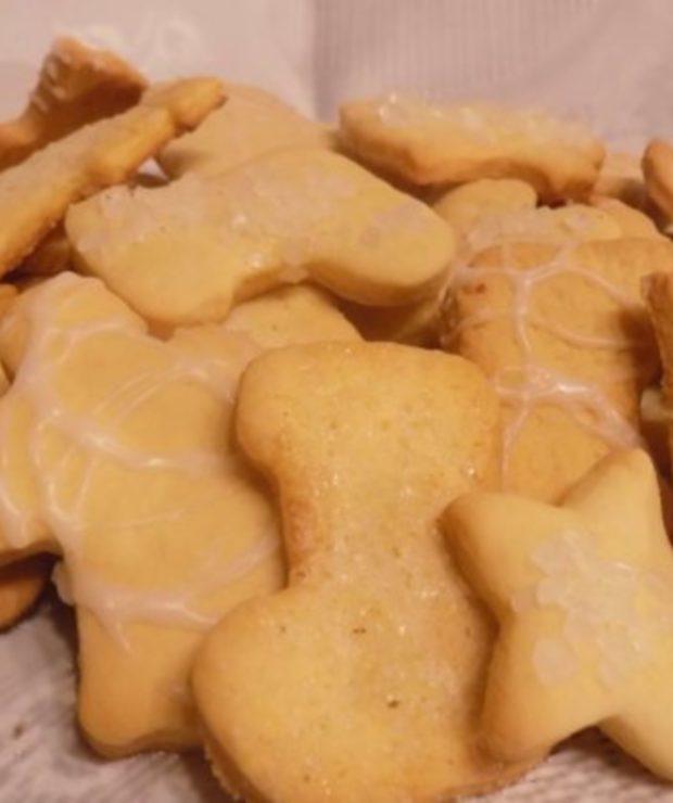 Kruche ciasteczka maślane - Ciastka