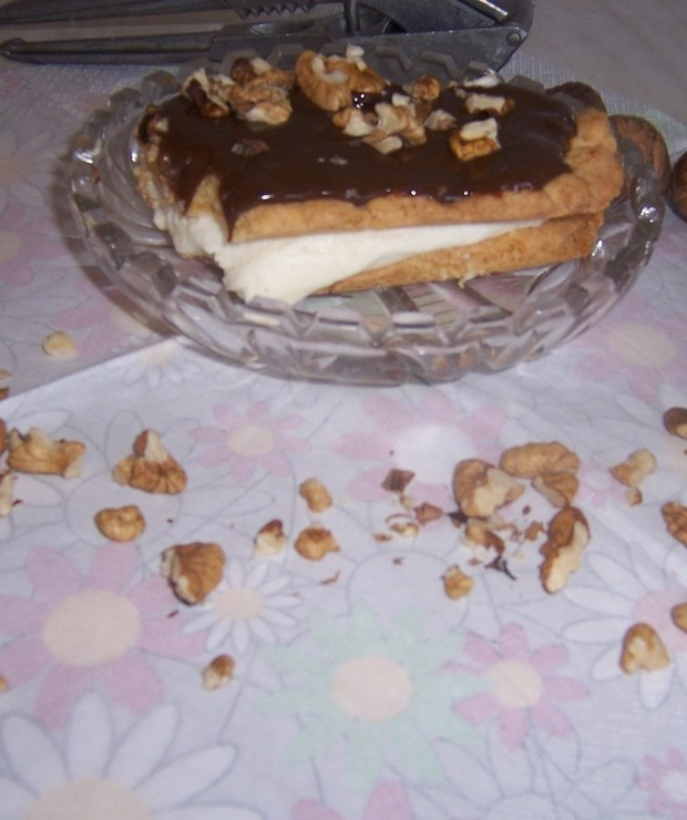 Ciasto snikers - Kruche