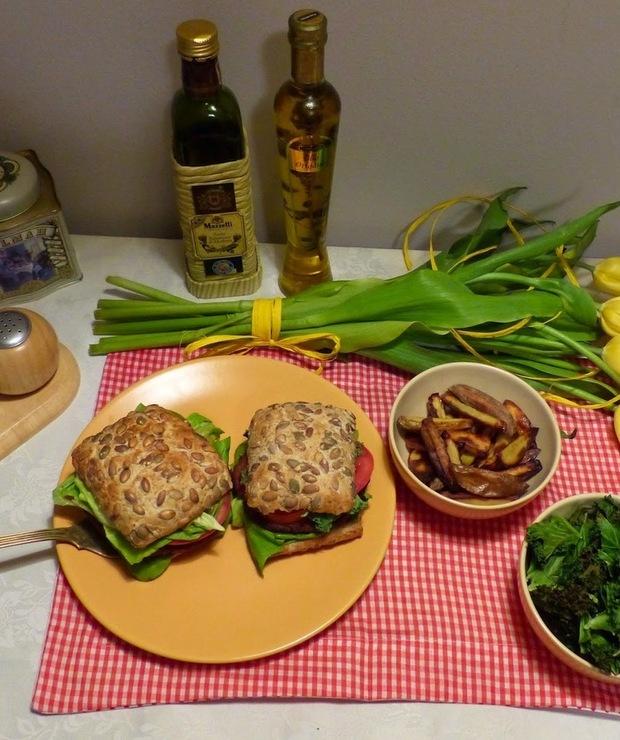 Burgery z batatów i żółtej soczewicy - Jarskie
