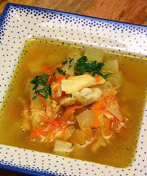 Zupa rybna z dorsza - Z warzywami