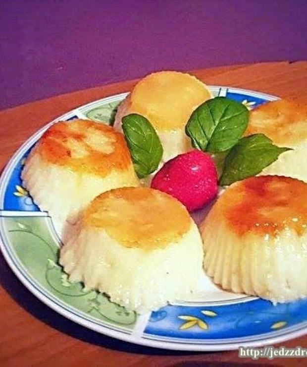 Kokosowo-limonkowa manna z karmelem - Placki i placuszki
