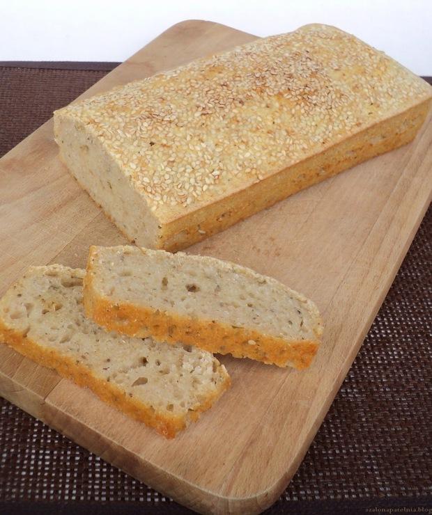 Chleb bezglutenowy na zakwasie ryżowym - Chleby