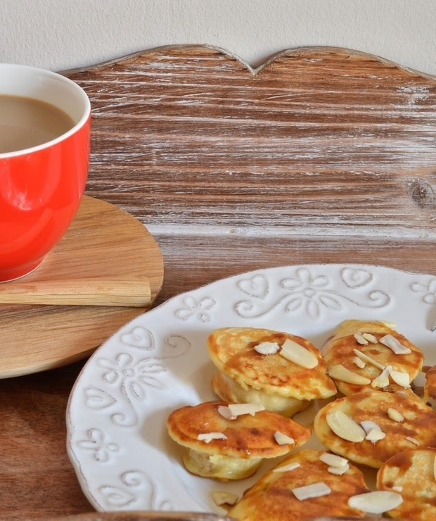 Banany w cieście - Jajka i omlety