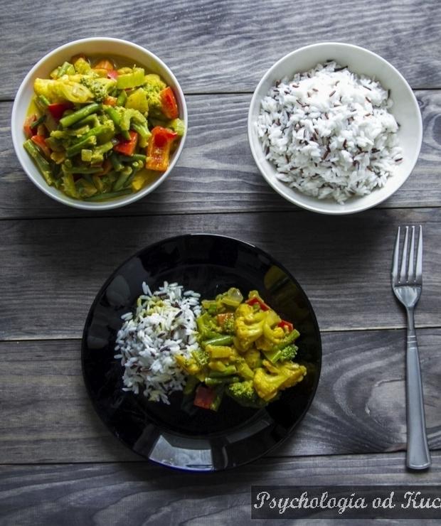 Warzywne curry z woka - Warzywa