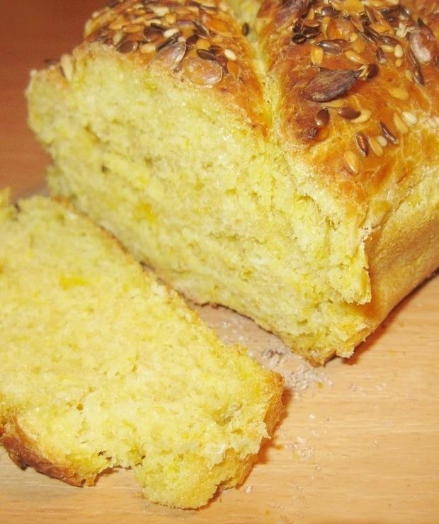 Chleb z dynią - Chleby