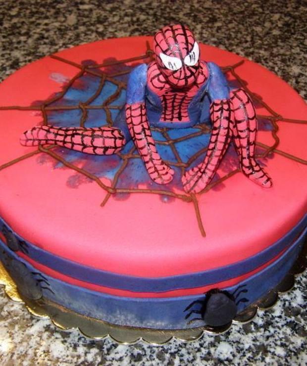 Tort spiderman - Torty