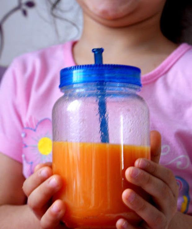 Koktajl detoksykujący-marchewka,kardamon,pomarańcza - Zimne