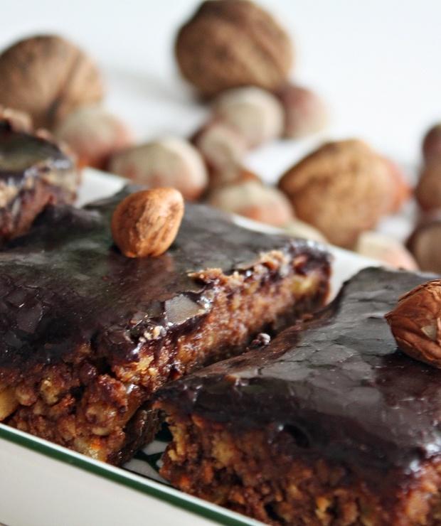 Bajaderki z polewą czekoladową i orzechami - Inne