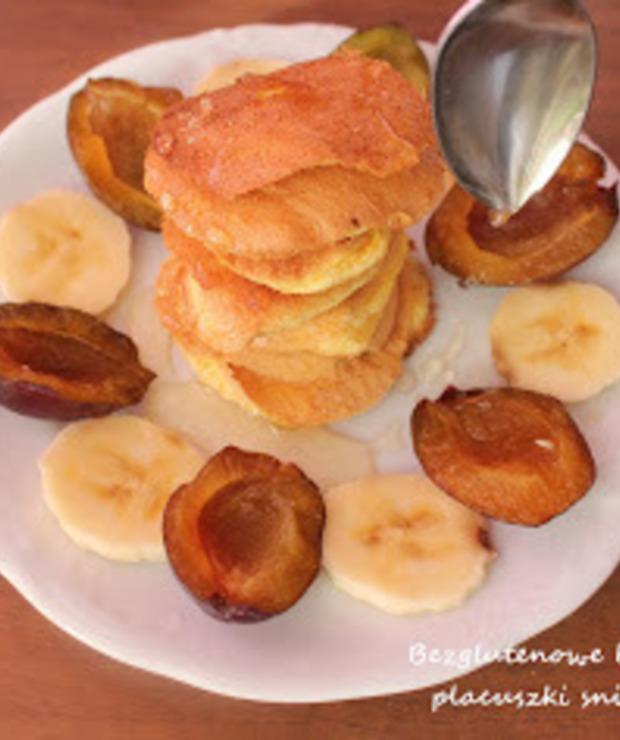 Bezglutenowe biszkoptowe placuszki śniadaniowe - Placki i placuszki