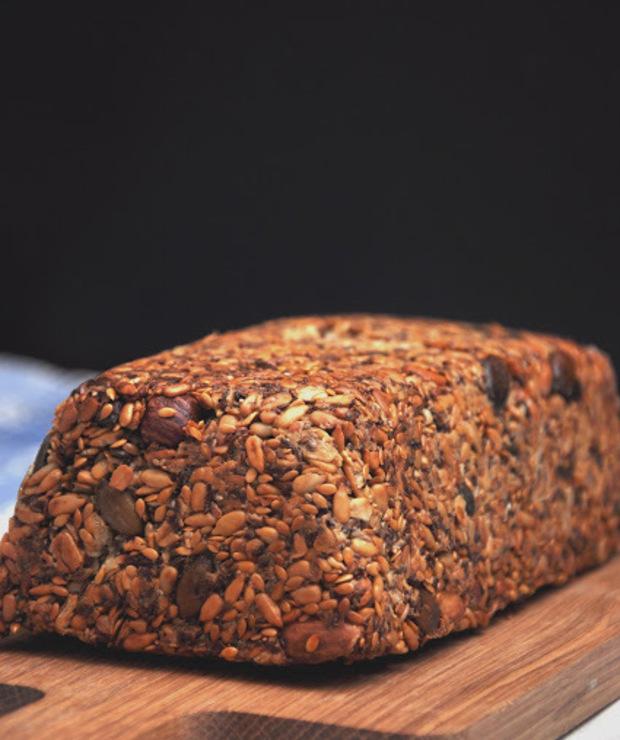 Najzdrowszy chleb z ziaren i płatków owsianych  - Chleby