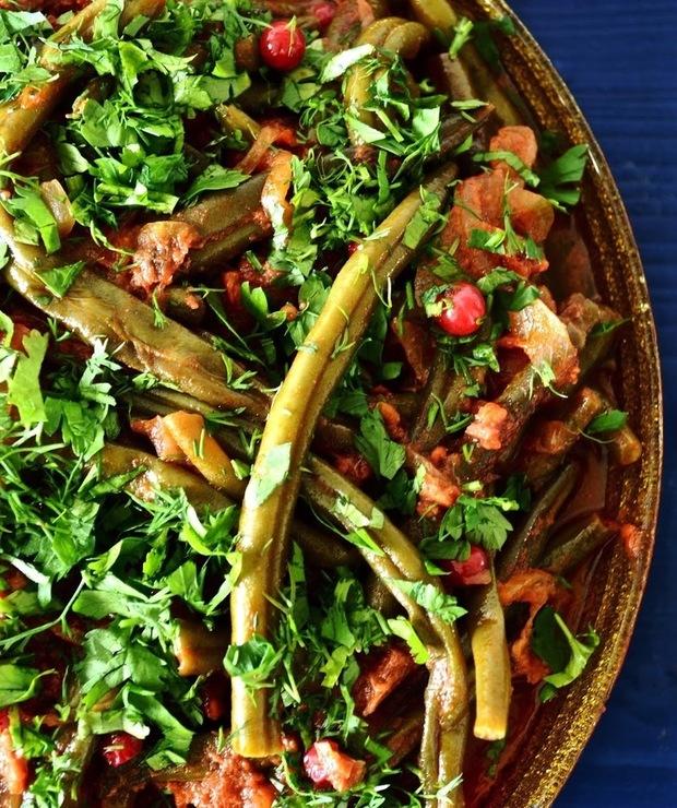 fasolka szparagowa w pomidorach (słodko-kwaśna) - Dodatki