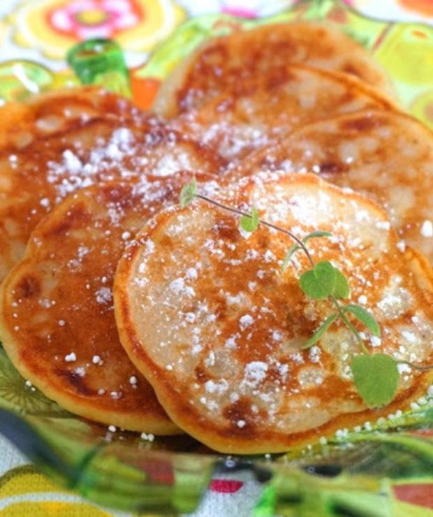 Szybkie racuszki bananowo-waniliowe - Placki i placuszki