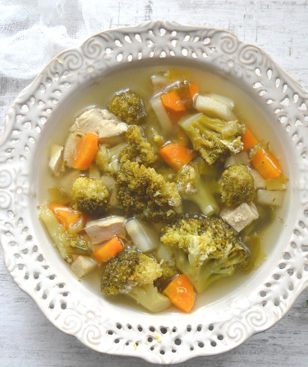 Zupa sycąca ale nie tucząca, która pomoże Ci schudnąć - Z mięsem