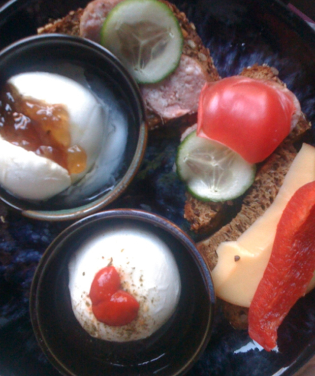 Śniadanie do łóżka :) - Jajka i omlety