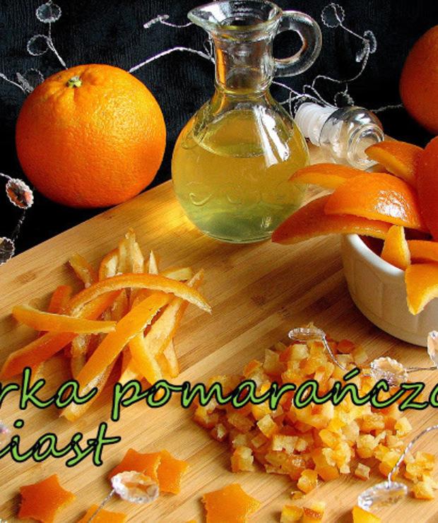 Skórka pomarańczowa do ciast i deserów - Owocowe