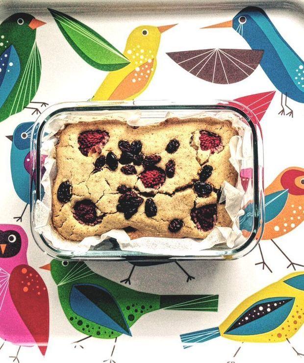 Wiosenne ciasto wegańskie - Ucierane