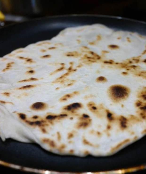 Domowa tortilla pszenna - Na zimno