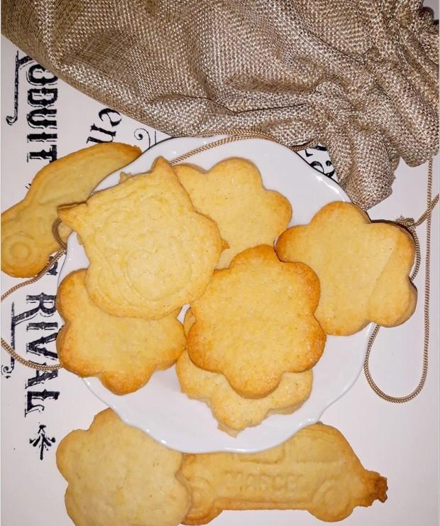 Szybkie waniliowe ciasteczka (wycinane przez dzieci) - Ciastka