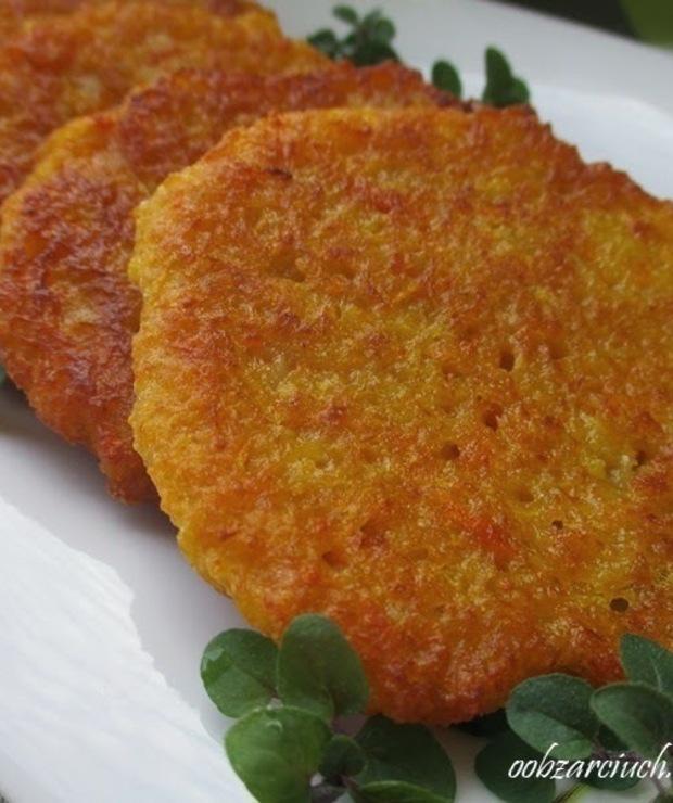 Placki ziemniaczano-marchewkowe - Warzywa