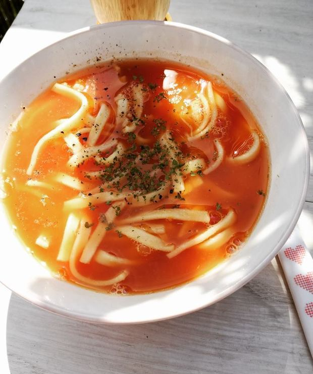 Pomidorowa po mojemu - Z warzywami