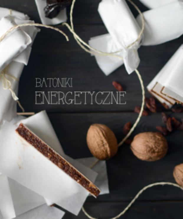 batoniki energetyczne bez pieczenia - Na zimno