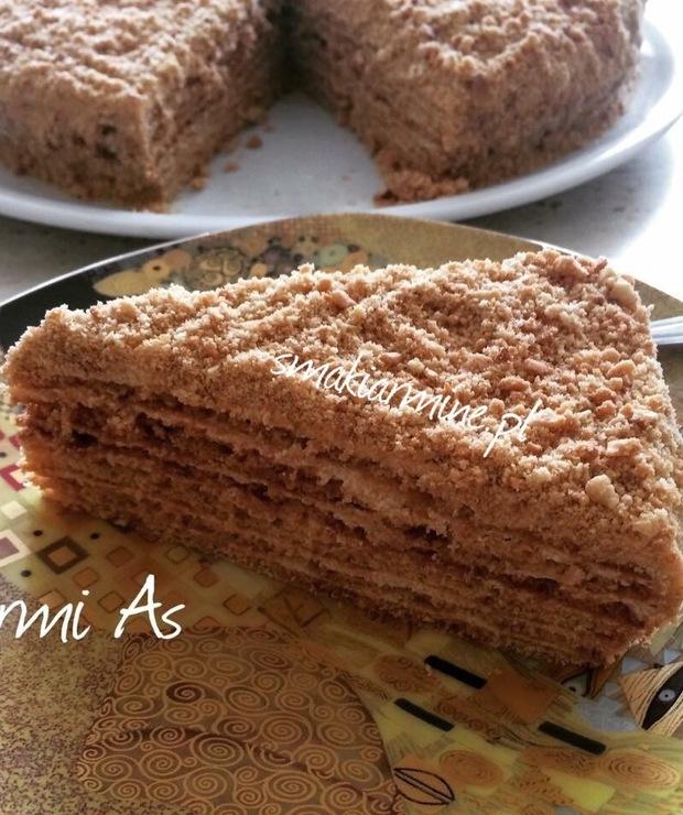 Staroormiański tort miodowy - Torty