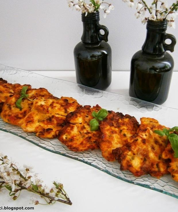 Kolorowe kotleciki z kurczaka - Drób