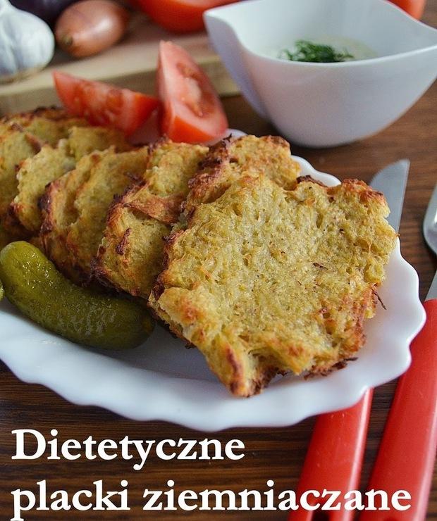 Dietetyczne placki ziemniaczane z piekarnika - Jarskie